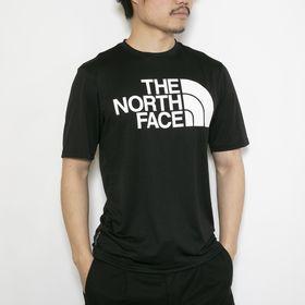 Sサイズ[THE NORTH FACE]Tシャツ M FLEX2 BIG LOGO S/S ブラック | ランニングやジョギングにもぴったりのメッシュ生地!