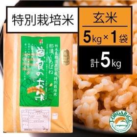 【5kg】特別栽培米 玄米 「曽良のお米(そらのおこめ)」J...