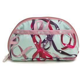 [LeSportsac]ポーチ DOME COSMETIC ミントグリーン系 | 丸みを帯びたデザインが女の子ごころくすぐる可愛らしいポーチ!