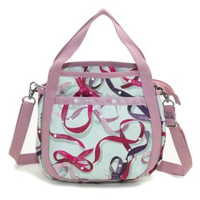 [LeSportsac]ハンドバッグ SMALL JENNI ミントグリーン系 | ころんと丸みを帯びたルックスが可愛らしい!ハンドバッグとしても◎