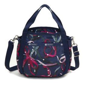 [LeSportsac]ハンドバッグ SMALL JENNI ネイビー系 | ころんと丸みを帯びたルックスが可愛らしい!ハンドバッグとしても◎