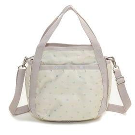 [LeSportsac]ハンドバッグ SMALL JENNI ベージュ系 | ころんと丸みを帯びたルックスが可愛らしい!ハンドバッグとしても◎