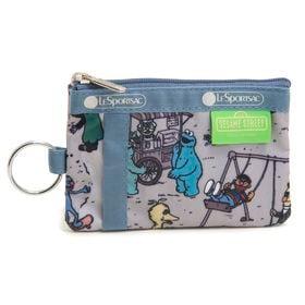 [LeSportsac]パスケース ID CARD CASE グレージュ系 | 世界中で大人気「セサミストリート」とのコラボレーション商品!