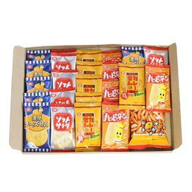 亀田製菓セット(濃厚チーズせん・ソフトサラダ・カレーせん・ハ...