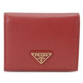 プラダ 二つ折り財布 1MV204 QHH F068Z 色:...