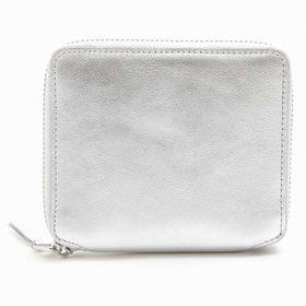 コムデギャルソン 二つ折り財布 SA2100G 色:SILV...
