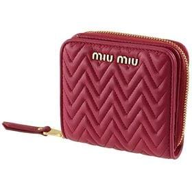 ミュウミュウ 二つ折り財布 5ML522 2CAL F050...