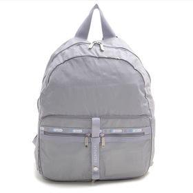 [LeSportsac]リュック TRAVEL PKABLE BACKPACK グレー | 小さく折り畳んで持ち運べるので、急に荷物が増えたときも安心♪