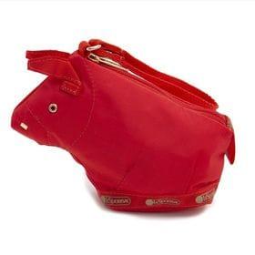 [LeSportsac]バッグチャーム OXEN CHARM レッド | ウシをモチーフとしたころんとしたデザインがとってもキュート!