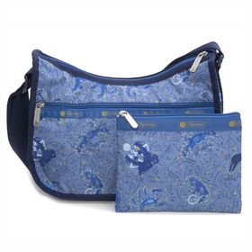 [LeSportsac]ショルダーバッグ CLASSIC HOBO ブルー系 | レスポ定番のショルダーバッグ!自分好みのプリントを見つけよう♪