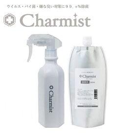 ノンアルコール 除菌消臭剤 チャーミスト 300ml+詰替5...