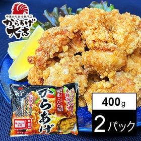 【400g×2パック】【レンジでチン!】中津からあげ 骨なし...