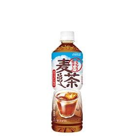 【24本】茶流彩彩 麦茶 PET 600ml