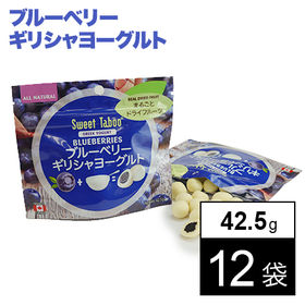 【42.5g×12袋】ブルーベリー ギリシャヨーグルト
