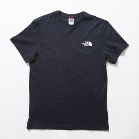 Mサイズ[THE NORTH FACE] M'S S/S SIMPLE DOME TEE ブラック | シンプルなので一枚あると幅広い活躍が期待できそう!