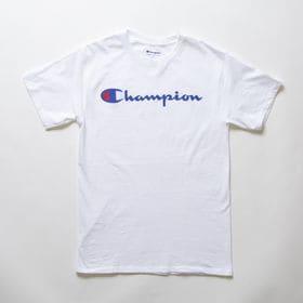 Sサイズ [Champion] M CLASSIC GRAPHIC TEE ホワイト | ユニセックスでお使いいただけるベーシックな一枚♪