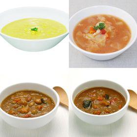 【4種】体に優しいものだけを使ったマクロビ・カレー&スープセ...