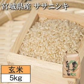 【5kg】令和2年度 宮城県産ササニシキ 玄米
