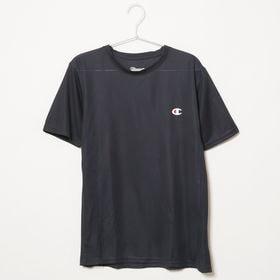 Sサイズ[Champion] 半袖TシャツM MESH S/S TEE ネイビー | 通気性の良いメッシュ生地で、スポーツウェアとしてもオススメです♪