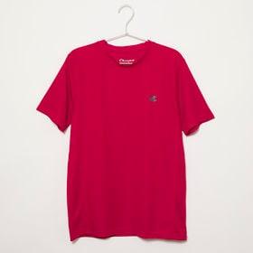 Sサイズ[Champion] 半袖TシャツM MESH S/S TEE レッド | 通気性の良いメッシュ生地で、スポーツウェアとしてもオススメです♪