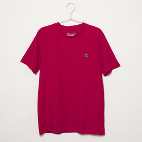 XXLサイズ[Champion] 半袖TシャツM MESH S/S TEE レッド | 通気性の良いメッシュ生地で、スポーツウェアとしてもオススメです♪