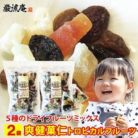 【2袋】ドライフルーツ 爽健菓仁