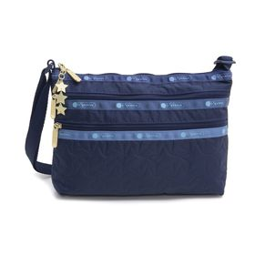 [LeSportsac]ショルダーバッグ QUINN BAG ネイビー | 豊富なポケットで小物もすっきり収納!日常使いにオススメ♪