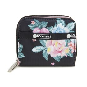 [LeSportsac]財布 CLAIRE WALLET ブラック系 | 丈夫で使い勝手の良い折り財布!豊富なカードポケットで収納力抜群♪
