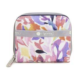 [LeSportsac]財布 CLAIRE WALLET オフホワイト系 | 丈夫で使い勝手の良い折り財布!豊富なカードポケットで収納力抜群♪