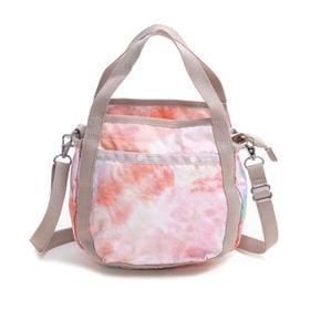 [LeSportsac]ハンドバッグ SMALL JENNI ピンクオレンジ系 | ころんと丸みを帯びたルックスが可愛らしい!ハンドバッグとしても◎