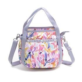[LeSportsac]ハンドバッグ SMALL JENNI オフホワイト系 | ころんと丸みを帯びたルックスが可愛らしい!ハンドバッグとしても◎