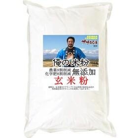 【500g】 俺の米粉 農薬9割削減 化学肥8割減 無添加 ...