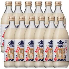 【500g×12本】まとめ買い 造り酒屋の濃厚甘酒 [お米と...