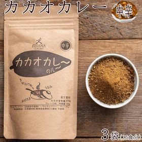 【300g(100g×3袋)】カカオカレーグルテンフリー(中...