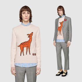 グッチ セーター 577131 XKAUS 9133 バンビ...