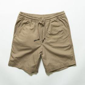 XLサイズ[patagonia]ハーフパンツ M'S HEMP VOLLEY SHORTS カーキ | 肌触りも涼しく、汗ばむ時期に一枚もってると重宝しそう♪