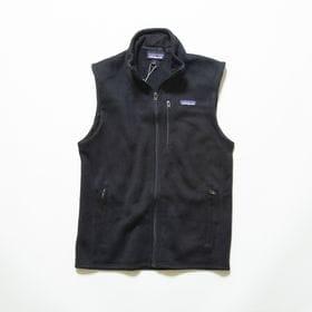 XLサイズ[patagonia]フリースベスト M'S BETTER SWEATER VEST 黒 | 春・冬・秋の3シーズンでの活躍ができるフリースベスト!
