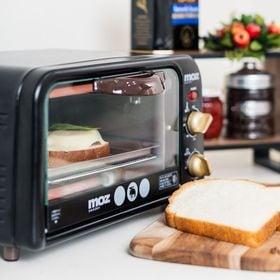 【ブラック】moz オーブントースター