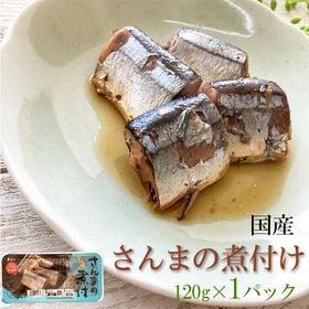 国産 さんまの煮付 120g(120g×1パック)