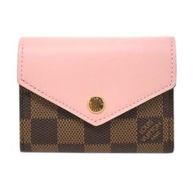 ルイヴィトン 折り畳み財布 N60167 ZOE 色:ROS...