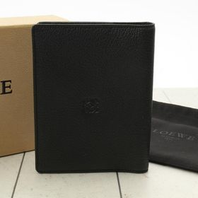 ロエベ パスポートケース 色:BLACK-ブラック