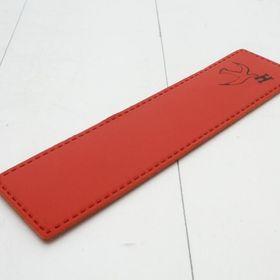 エルメス ブックマーク レザー製 色:RED-レッド