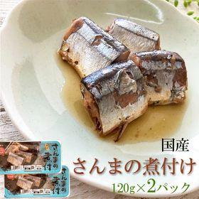 【240g(120g×2パック)】国産 さんまの煮付