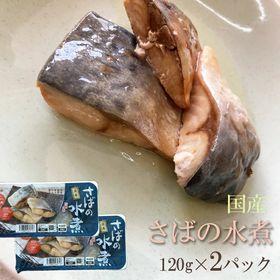 国産 さばの水煮 240g(120g×2パック)