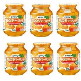 【780G×6個】カンピーオレンジマーマレード