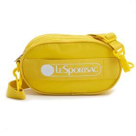 [LeSportsac] ベルトバッグ DELUXE LOGO BELT BAG イエロー | ポップなロゴがコーディネイトにアクセントを添える逸品!
