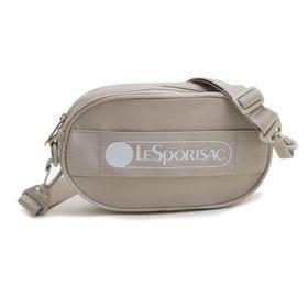 [LeSportsac] ベルトバッグ DELUXE LOGO BELT BAG ベージュ | ポップなロゴがコーディネイトにアクセントを添える逸品!