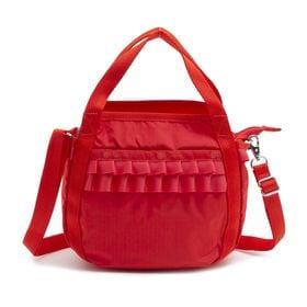 [LeSportsac] ハンドバッグ SMALL PRETTY JENNI レッド | 定番バッグをキュートにアップデート!
