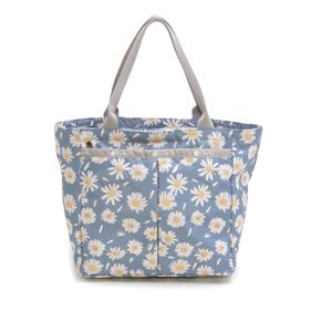 [LeSportsac] トートバッグ SMALL EVERYGIRL TOTE ブルー系 | お揃いの柄のポーチが嬉しい♪サブバッグやお買い物バッグとしても!