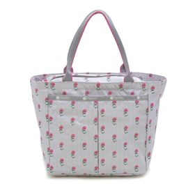 [LeSportsac] トートバッグ SMALL EVERYGIRL TOTE グレー系 | お揃いの柄のポーチが嬉しい♪サブバッグやお買い物バッグとしても!